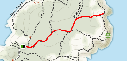 Black Head Trail to Station Hill Trail Map