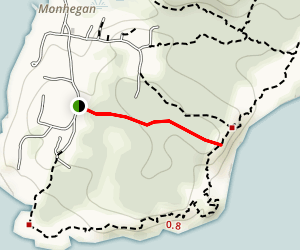 Underhill Trail Map