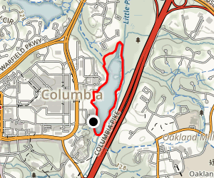Lake Kittamaqundi Trail Map