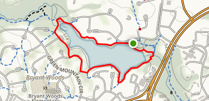 Wilde Lake Loop Map