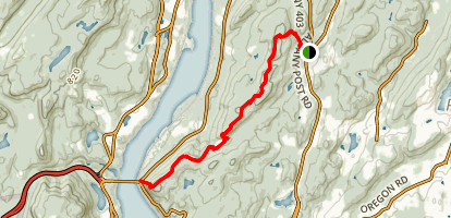 Appalachian Trail: Albany Post to Bear Mountain Bridge Map
