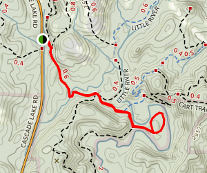 Nooks Trail Map
