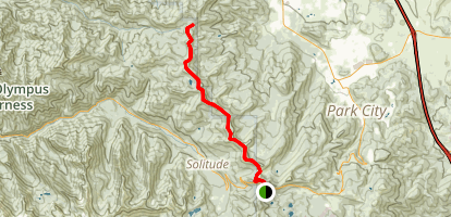 Wasatch Crest Trail Map
