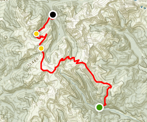 Webster to Radical Hill to Saints John Map