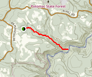 Lostland Run Trail Map
