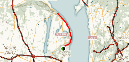 Long Path from Nyack to Haverstraw Map