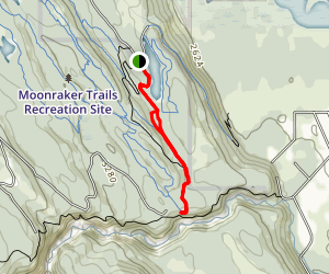 Klahowya Trail Map