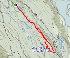 Cedar Camp to Barking Dog and Better than Boston Map