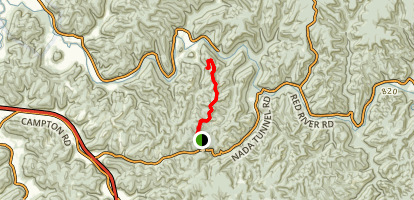 Auxier Ridge Trail Map