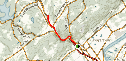Back Mountain Trail Map