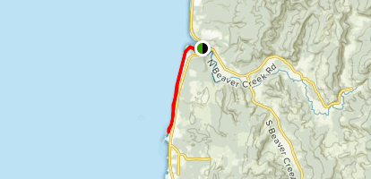 Ona Beach to Seal Rock Map