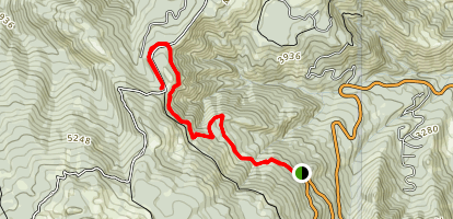 Devil's Spur Map