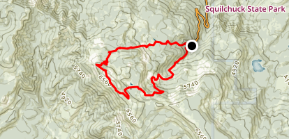 Mission Peak Loop Map