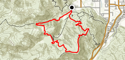 Dry Gulch Big Loop Map