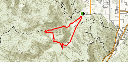 Dry Gulch Loop Map