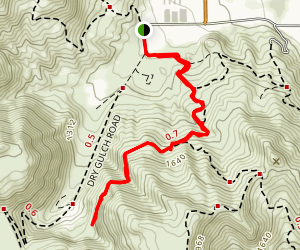 Cougar Canyon Map
