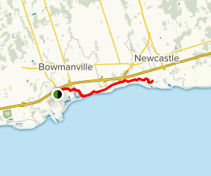 Bowmanville Harbour Conservation Trail Map