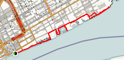 Detroit Riverfront Map