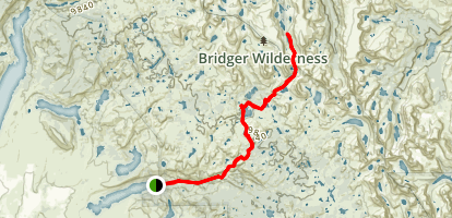 Europe Canyon Trail Map