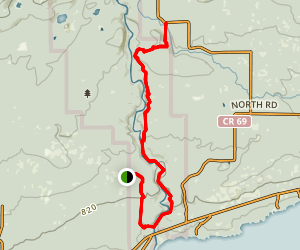 Superior Hiking Trail: Devil's Kettle and Picnic Hill Map