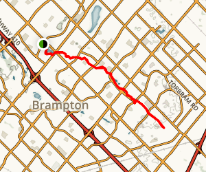 Chinguacousy Trail Map