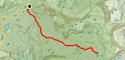 Carolyn Lake Map