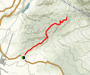 Toran to Ishar Nagar MTB Trail Map