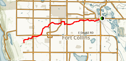 Spring Creek Trail Map