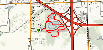 Lillie Park South Trails Loop Map