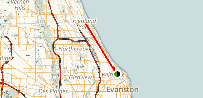 Green Bay Trail Map