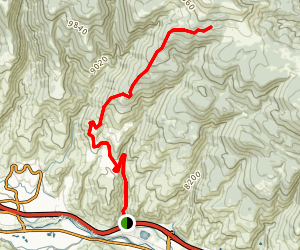 Metcalfe Creek Trail Map