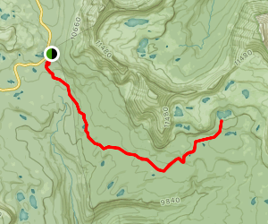 Jordan Lake Trail Map