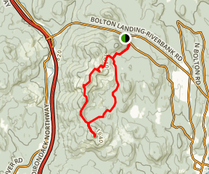 Cat and Thomas Mountain Trail Map