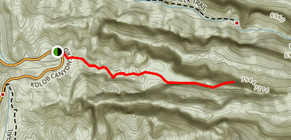 Taylor Creek - South Fork Map