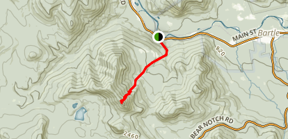 Mount Tremont Trail Map