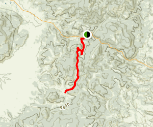 The Colorado Trail from Colorado Highway-114 Map