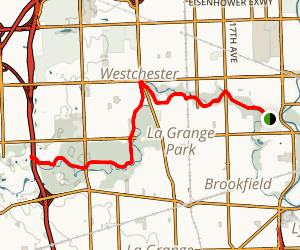 Salt Creek Greenway Trail Map