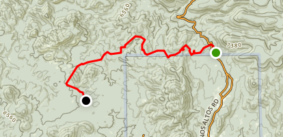 Continental Divide Trail Segment 7 Map