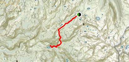 Vogelsang Camp to Merced Lake Trail Map