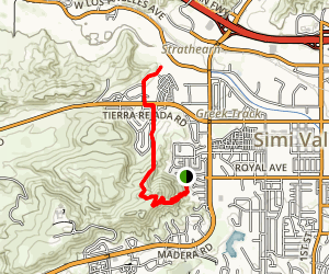 Mount McCoy Trail Map