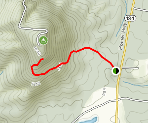 Currahee Trail Map