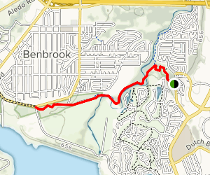 Trinity River Trail (Oakmont Park) Map