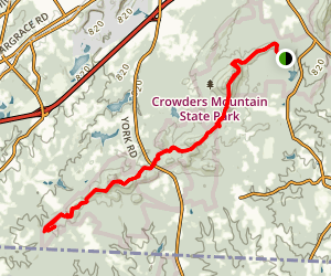 Ridgeline Trail Map