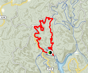 Copperhead Trail and Wildcat Trail Loop Map