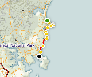 Collaroy to Manly Coastal Walk Map