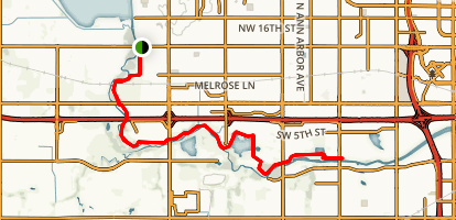 West River Trail Map