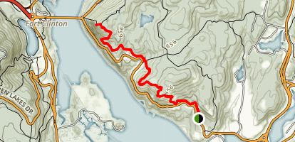 Camp Smith Trail to Anthony's Nose Map