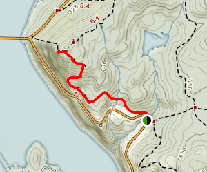 Anthony's Nose via Appalachain Trail Map