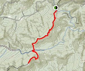 Appalachian Trail: Tar Jacket Ridge to Cole Mountain  Map
