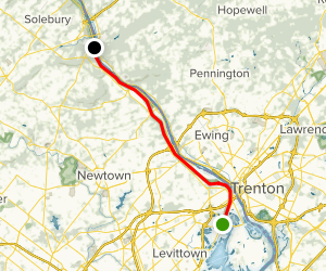 Delaware Canal National Heritage Trail Map